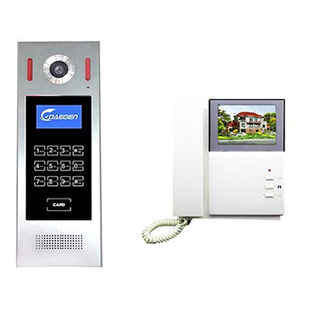 china 4 2 wires video door entry phone intercom system from zhuhai rh zhdaegen manufacturer globalsources com
