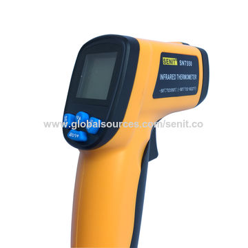 China Cheap SNT550 Non-contact Thermometer IR Laser LCD Digital Infrared Thermometer 50-550 Degree