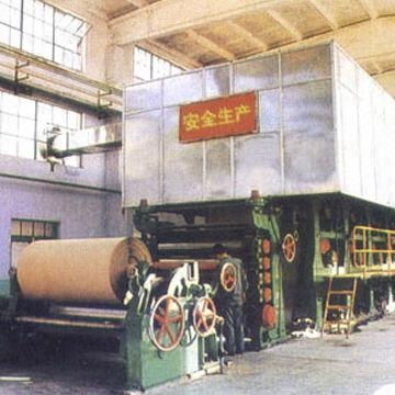 50 to 300T/D Test Liner Paper-making Machine, Waste Paper/Wheat
