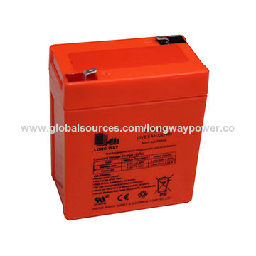 China 6v 6 5 Emergency Light Power Toy Car Battery On Global Sources
