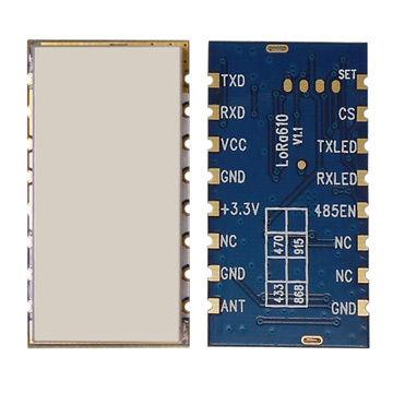 Wireless Data Transceiver, 100mw, Long Range 4km, Lora