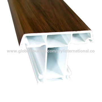 China European Style PVC Window and Door Frame and also Sash Profile ...