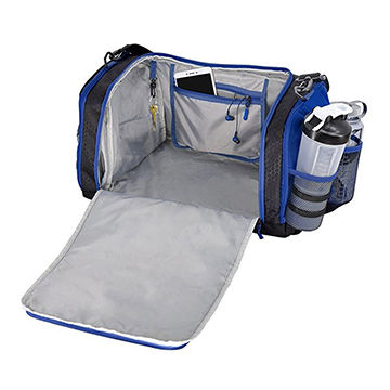 China Wholesales custom duffle gym bag with shoe compartment sports ... f00c89408205d