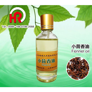 China Pure Fennel Seed Oil