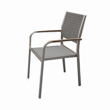 China New Fashion Design Rattan Dining Chair Suitable For Indoor And Outdoor Use