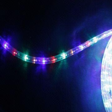 Hot sale 3 wire decorative color changing led rope light global china hot sale 3 wire decorative color changing led rope light aloadofball Choice Image