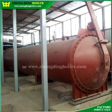 ISO PED SGS approved industrial steam autoclave kettle steam