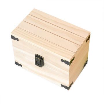 Paulownia Wood Square Shaped Storage Box To Personalise Decorate Paint Craft
