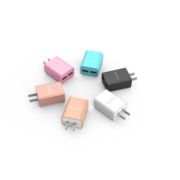Latest design travel mobile charger with dual output