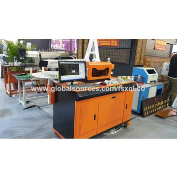 China Channel letter Aluminum bending machine for aluminum profile signage