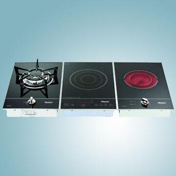 China Discretional Three Burner Gas Electric Radiant And Induction Cooktop