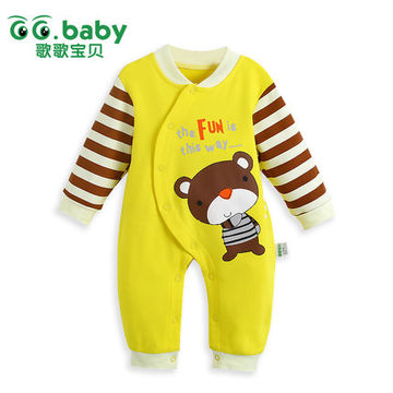 26d666df9 2015 Newborn Baby Clothing Spring Autumn Rompers Babay Boby Jumpsuit ...