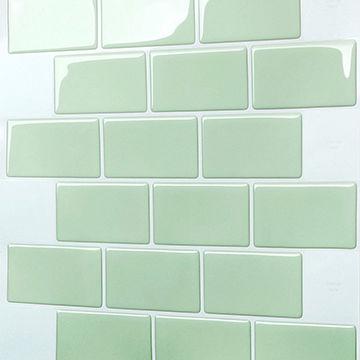 China Diy Decoration Mosaic Design Adhesive Self Wall Tiles For Kitchen Backsplash