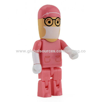 China Cartoon Robot Medical USB Flash Drive Doctor Type