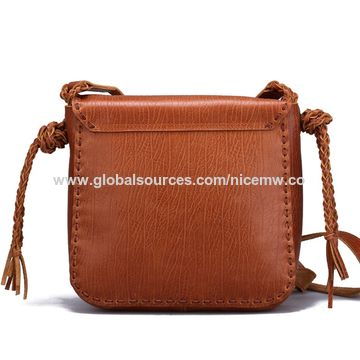 a450cfd0dc ... China Women s Handmade Vegetable Tanned Leather Shoulder Crossbody  Handbag