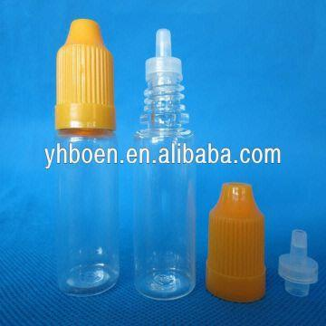 10ml Pet Plastic Dropper Bottles with Child Safety Cap