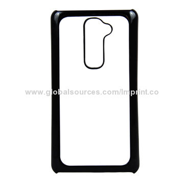 brand new a51db 8291f DIY sublimation phone case, black plastic, used for LG G2, heat ...