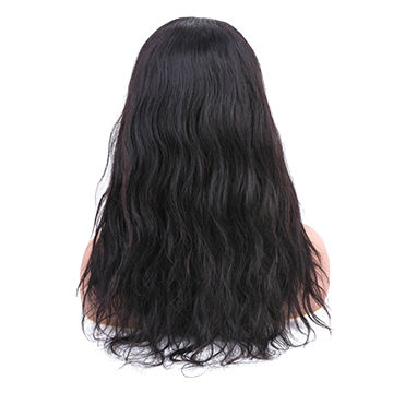 Human Hair Weaves Allrun Brazilian Straight Hair Natural Color 360 Lace Frontal Human Hair Closure 100% Non Remy Hair Extensions Grade Products According To Quality
