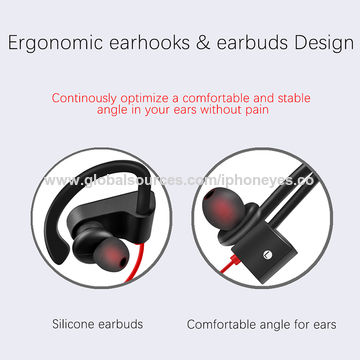 China V4.1 Bluetooth Headphones, Wireless Sport Headphones, In-ear Sweatproof Running Earbuds with Mic