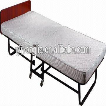 china foldable single bed frame with headboardcheap bed framehotel add bed - Cheap Single Bed Frames
