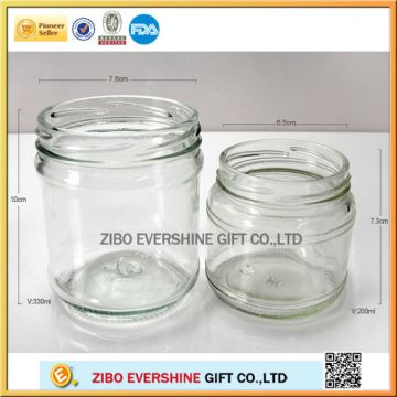 Glass Mason Jar Glass Baby Food Jars In Bulk Wholesale