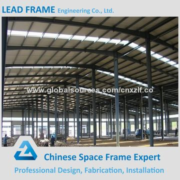 ... China 2000sqm Pre Engineering Light Gauge Steel Buildings For Industrial  Storage Shed ...
