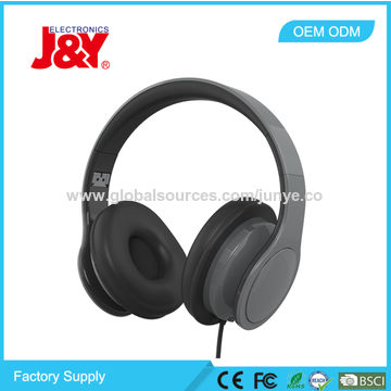 China Wholesale RoHS Directive-compliant Computer Wired Headphones Manufacturer