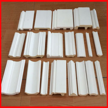 china polystyrene foam decorative molding ps molduras rodapesbaseboard skirting board - Decorative Molding