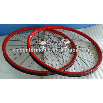Mountain Bike 100 Carbon Fiber Clincher Rim Specialized Red Color