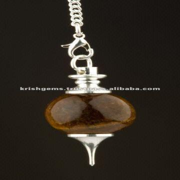 Tiger eye Pendulum / Dowsing Pendulum / Gemstone Pendulum