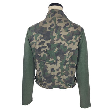 China Women's camouflage casual jackets