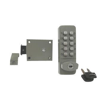 Hong Kong SAR Zinc Alloy Push Button Cabinet Lock with Hook Bolt ...