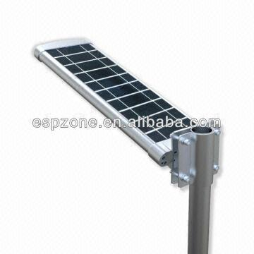 elegant integrated solar panel street led light outdoor lighting