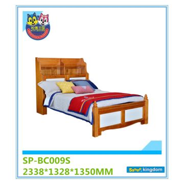 Natural Views Decorative Bedroom Set Coffee Wooden Charpai Lastest Double  Bed Design#SP BC009S