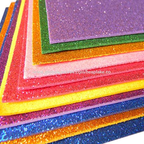 China Glitter EVA Foam Sheets, School Education EVA, Craft Foam