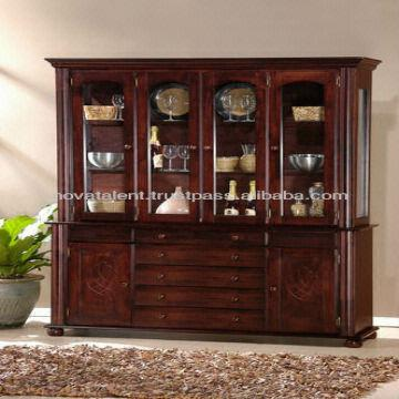 Dining Set Home Furniture Chairs Table Buffet