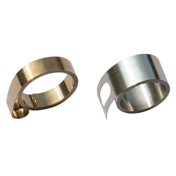 China Customized stainless steel constant force spring from Dongguan factory