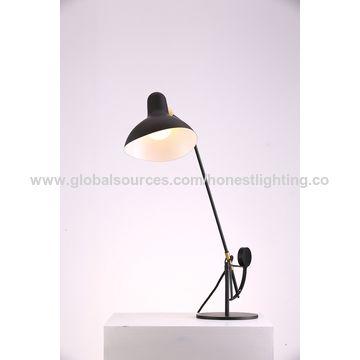 North European Modern Simple Desk Reading Lamp Bed Side Metal Adjustable