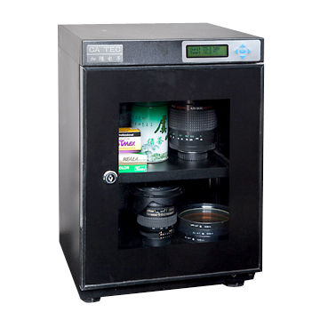 Camera Storage Cabinet for Home Use, with LED Display and Humidity ...