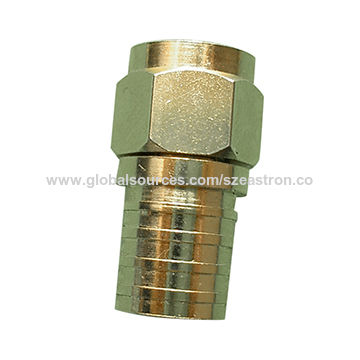 CATV coaxial cable crimp type F male connector | Global Sources