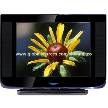 China 21-inch pure flat/normal flat TV with revolving stand