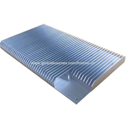 Aluminum CNC Extruded Heat Sink