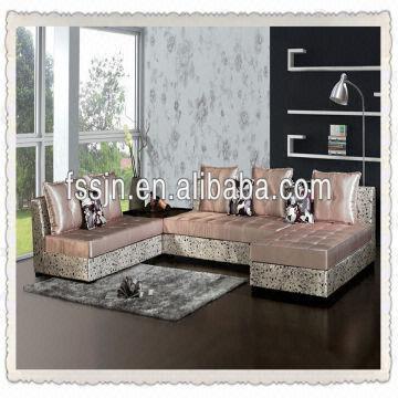 Corner Sofa Set Designs F7805 China