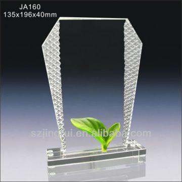 China Crystal Blank Trophy