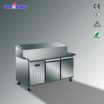 Commercial Pizza Display Refrigerator Pizza Prep Table Global Sources - Commercial prep table refrigerator