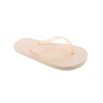 7c5b8506173f ... China Wholesale girl s jelly flip flops PE EVA outsole beach slippers  ...