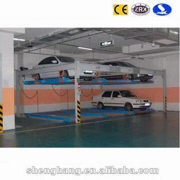 China 2 Floors 5 Cars Smart Parking System Garage Storage Systems Auto