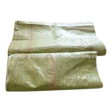 Green Woven Polypropylene Bags China