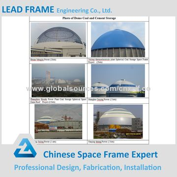 Xuzhou High Rise Outdoor Geodesic Dome Metal Roofing Cover