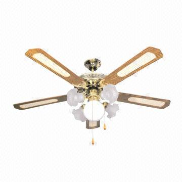 China 52 Inch Decorative Ceiling Fan Measures 540 X 280 200mm 4